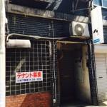 入り口(新天街ビル1階/居抜き)